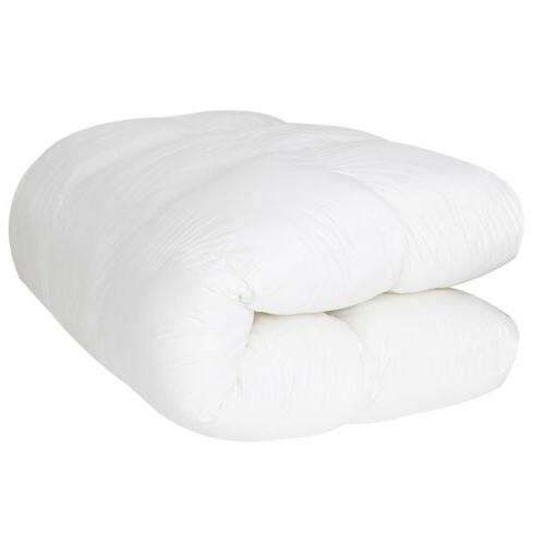 Queen Mattress Cover Memory Foam Luxury Bed Top Thick Topper