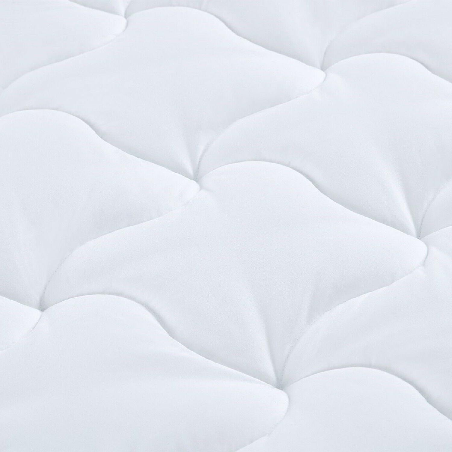 QUEEN Luxury Fitted Bed Pad Cover