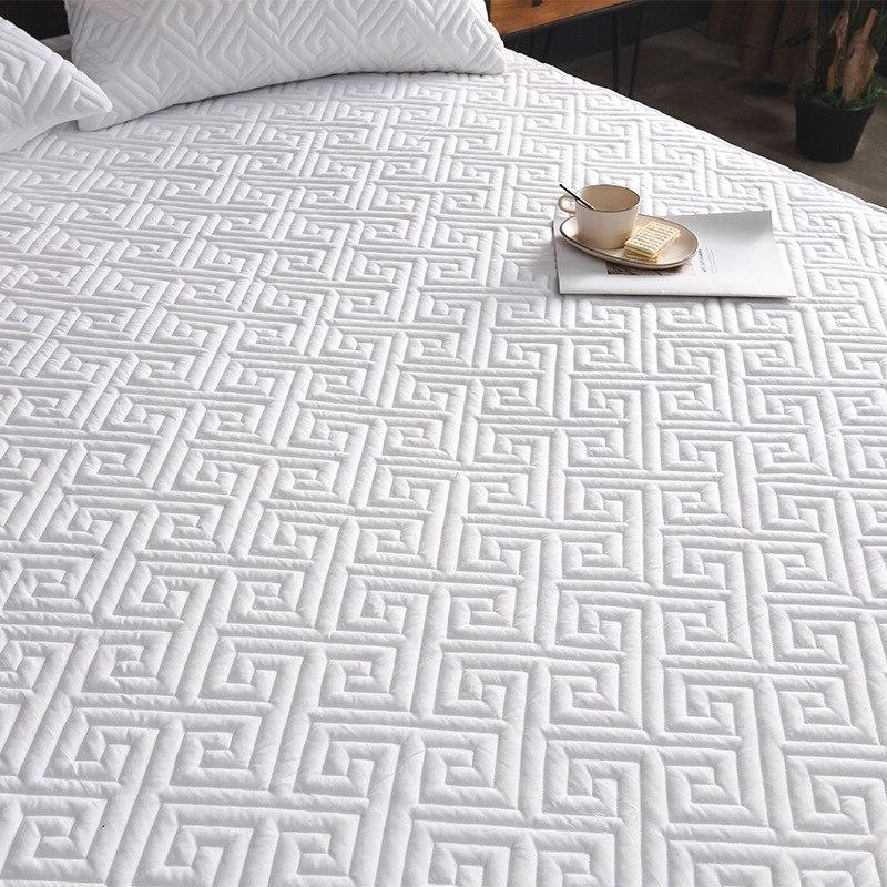 Quilted Fitted <font><b>Mattress</b></font> - up Deep