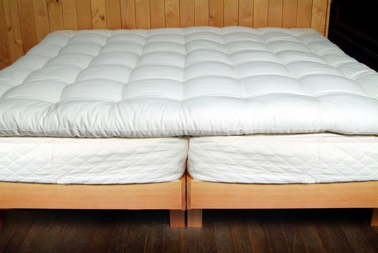 quilted organic cotton and wool ultimate sleep