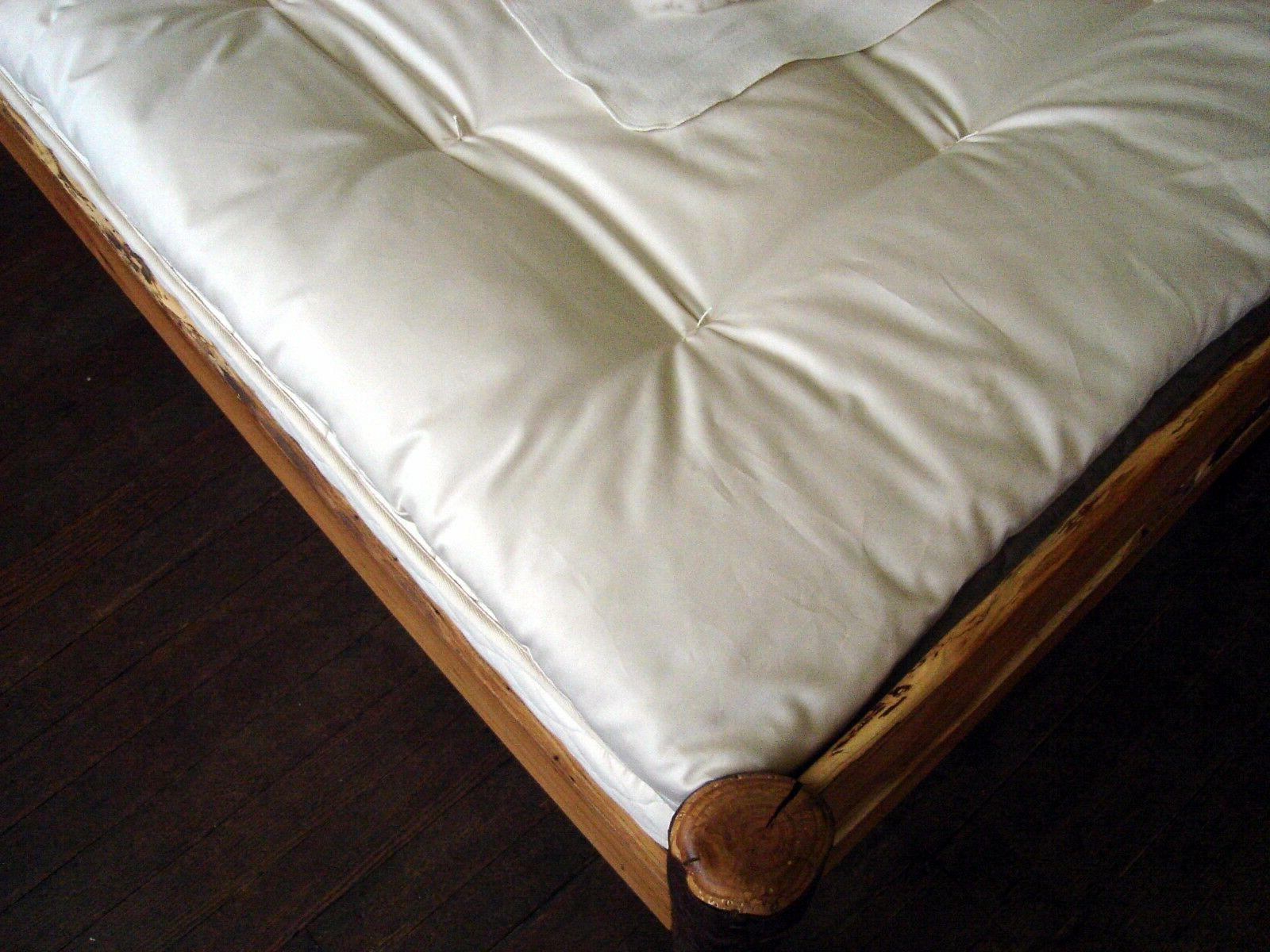 Holy Lamb Quilted Organic Cotton Ultimate Sleep Mattress Topper