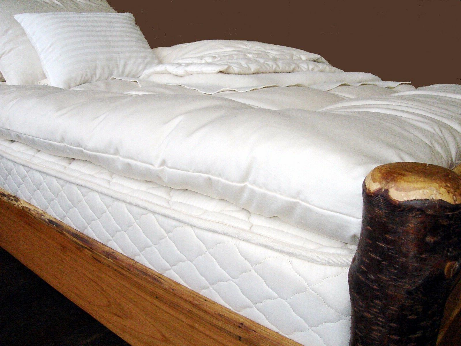 Holy Lamb Organic & Wool Ultimate Sleep Topper