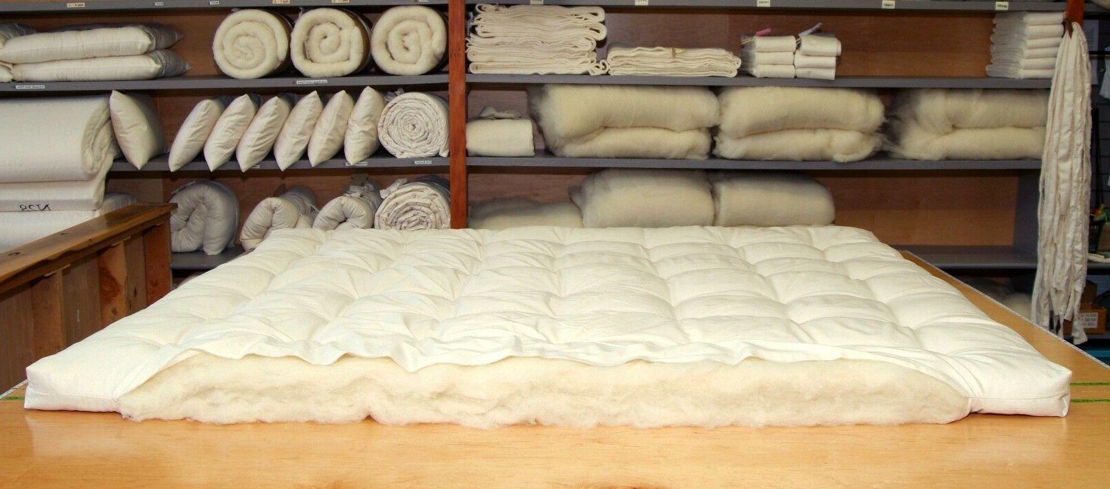 Holy Lamb Organics Organic Cotton & Ultimate Sleep Mattress Topper
