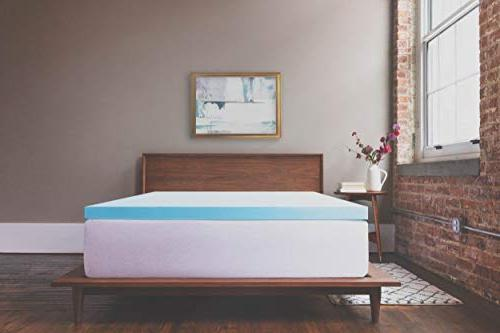 ViscoSoft 3 Inch Gel Memory Foam Full Mattress Amazing Comfort for Back, Sleepers for Temperature Regulation Made