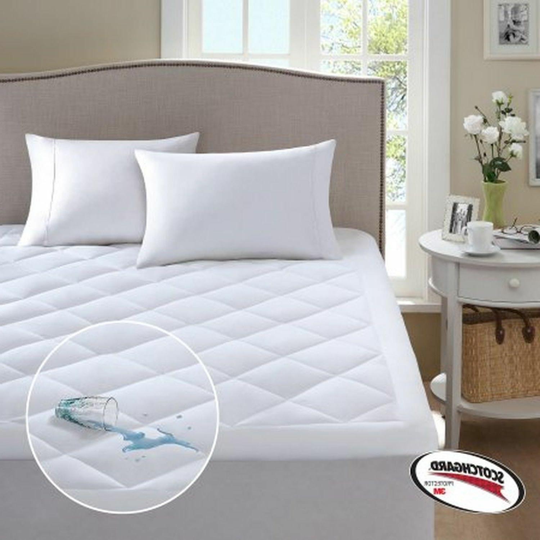 scotchgard harmony waterproof mattress pad