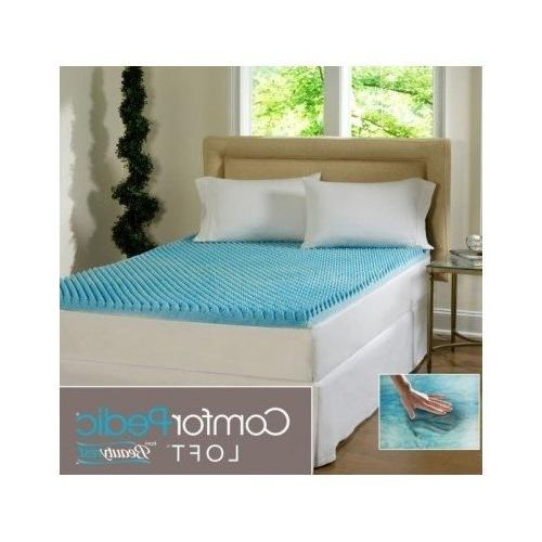 sculpted gel memory foam mattress