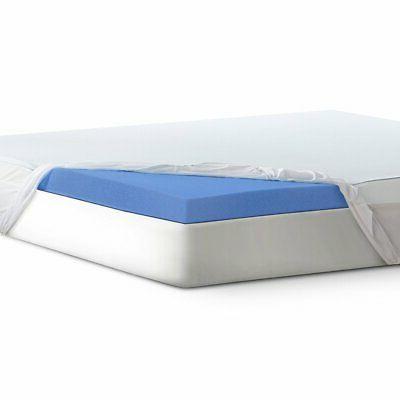 "Serta 3"" Lasting Dream Plus Gel-Infused Memory Foam Mattress"
