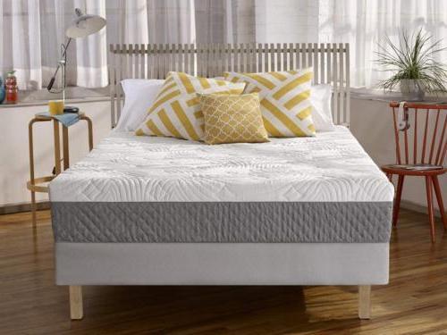 shea 10 inch memory foam mattress
