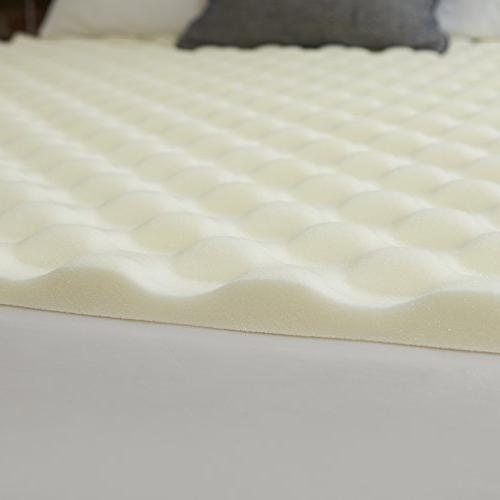SIeep Innovations Reversible Memory Foam with Channels, in with a 5-year Warranty King Size