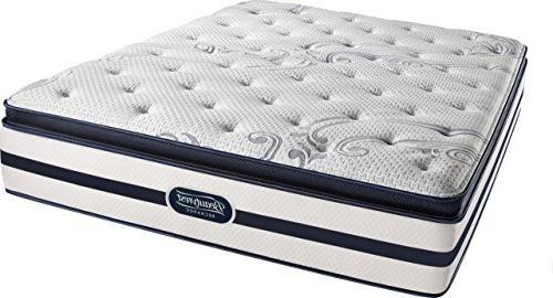 simmons plush pillow mattress