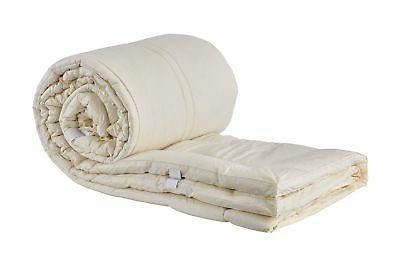 Sleep & Beyond 60 by 80-Inch Washable Wool Mattress Pad, Que