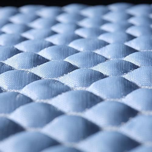 Fashion Bed Group Chill Mattress Fibers and 3-D Fabric,