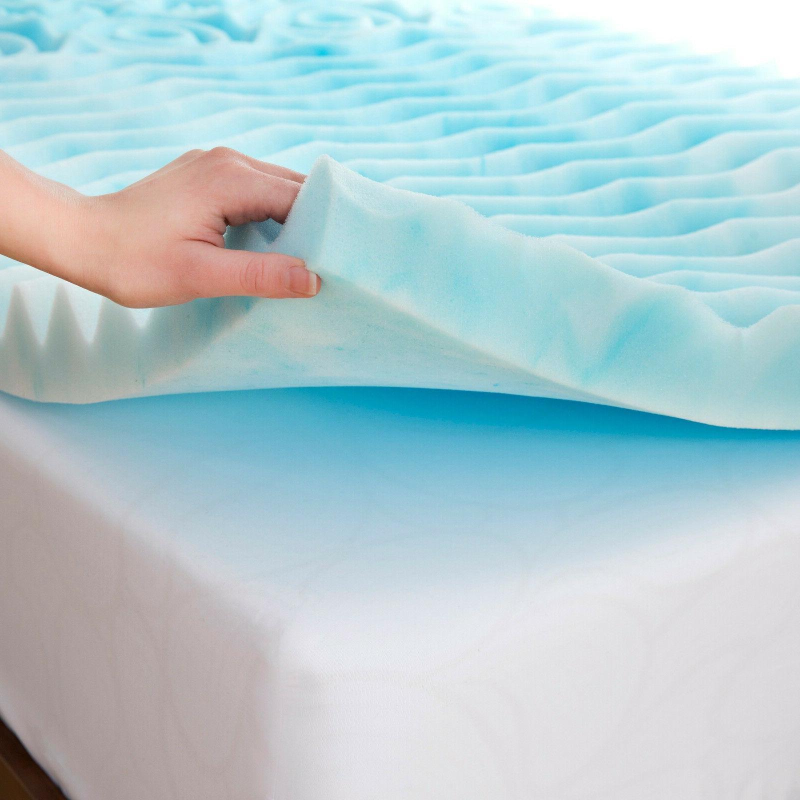 Orthopedic Crate Foam Mattress Topper Soft Pad KingSize