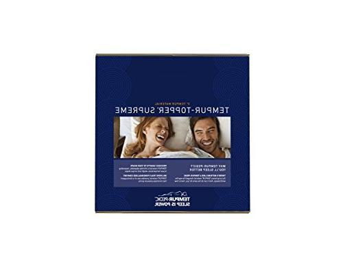 Tempur-Pedic Supreme Premium Adaptable Personalized Pressure Relieving, USA, King