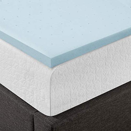 Best Queen Mattress Topper 1.5 Gel Foam Bed with Cooling Mattress Queen
