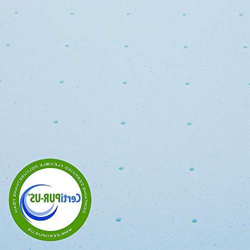 Best Twin Mattress Inch Gel Foam Bed with Mattress Pad,