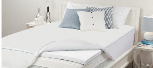 tw0 twin memory foam bed