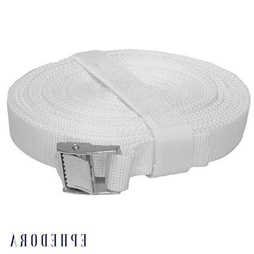 EPHEDORA King Converter Strap 33ft Twin Buckle Easy Use Any Mattress &