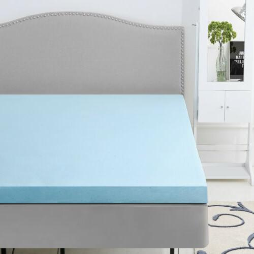 Memory Foam Twin/Queen Gel Bamboo