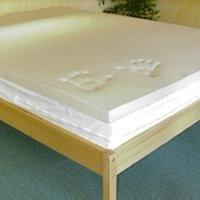 "Queen 1"" thick 5.3 LB Memory Foam Mattress topper"