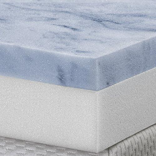 two layer topper gel memory