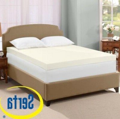 ultimate 4 inch visco memory foam mattress