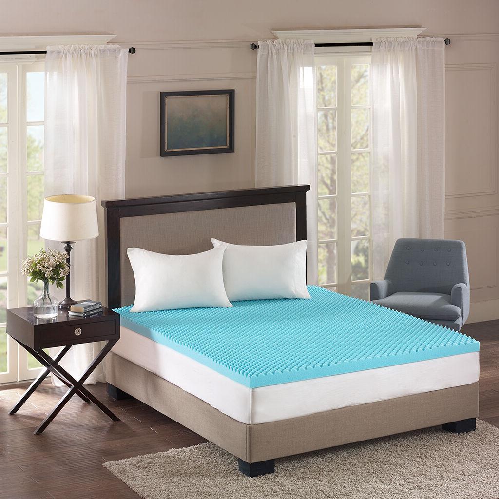 ULTIMATE GEL FOAM COMFORT BED TOPPER