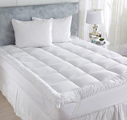 Great Bay Hotel Quality Topper. Down Alternative Thick Mattresses to Deep