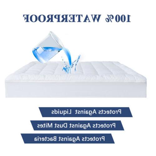 Waterproof Pad Quilted Fitted Cooling Cotton