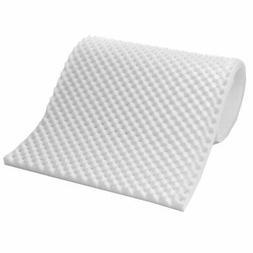 lightweight 1 inch convoluted foam mattress topper