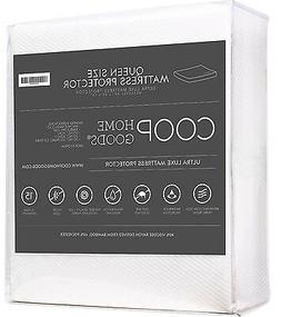 Luxe Bamboo Mattress Protector Waterproof Pad Hypoallergenic