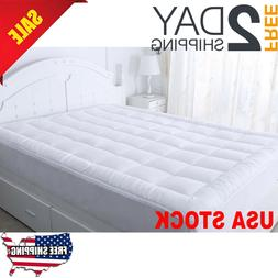 Luxurious Mattress Pad Topper Ultra Soft Mattress Protector