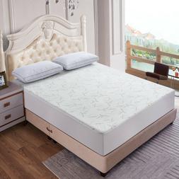 luxury waterproof bamboo mattress protector