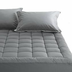 Mattress Pad 300TC 100% Cotton Cover Pillowtop Fitted Topper