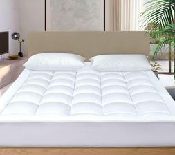 Cosylifee Mattress Pad Cover Cooling Foam Pillow Top Topper