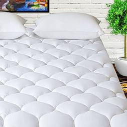 HARNY Mattress Pad Cover Queen Size Cooling Mattress Topper