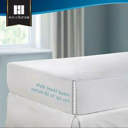 Mattress Pad Cover Queen Size Pillow Top Topper Thick Luxury