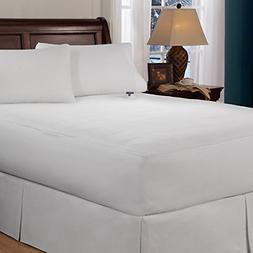 Mattress-Pad. Invisiwire Technology, Low Voltage Micro-velou