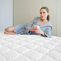 Mattress Pad Protector Thick Quilted Topper Cover with Deep