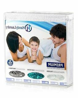Twin Mattress Protector, Waterproof, Breathable, Blocks Dust