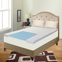 Spring Solution Mattress, Gel Infused 2-Inch High Density Fo