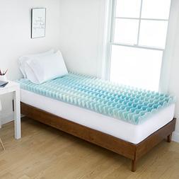 Authentic Comfort Dorm 2-Inch BlueWave Memory Foam Mattress