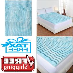 mattress topper gel memory foam 2 orthopedic