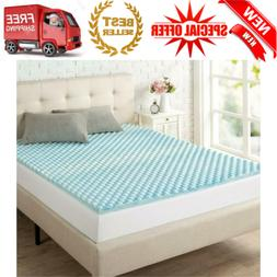 Mattress Topper Memory Foam Pad Comfort Sleep Back Support Q