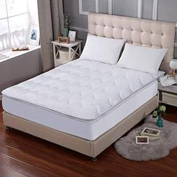 MARQUESS Mattress Topper with Double-Deck, Airflow New Breat