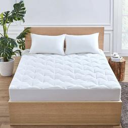 Mattress Topper Twin Full Queen King Size Quilted Fitted Cov