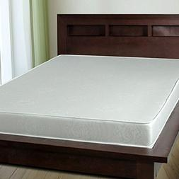 Orthofoam 6 inch Memory Foam Mattress with All White 100% Co