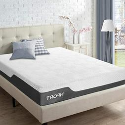 HIFORT 10 Inch Memory Foam Mattress Full with Medium Plush F