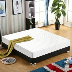 "New Queen Size 10"" Memory Foam Mattress  Pad Bed Topper 2 FR"