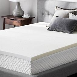 Sleep Master Memory Foam 2 Inch Mattress Topper, Twin